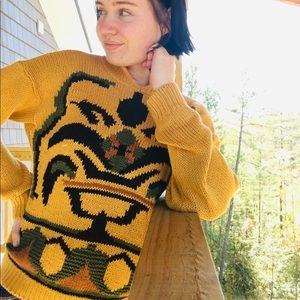 Fall vintage sweater.